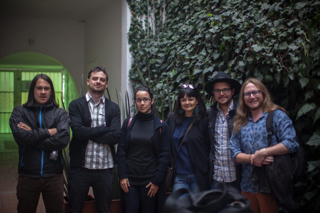 Giovanni Jaramillo, Daniel Wizenberg, Mónica Rivero, Yasna Mussa, Alejandro Saldívar y Diego Cazar, el Consejo Editorial de Late.