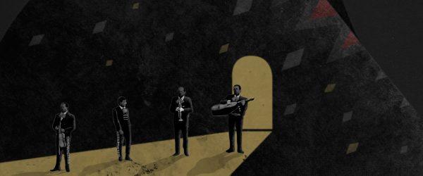 Chavela Vargas, ilustración de Diego Martínez.