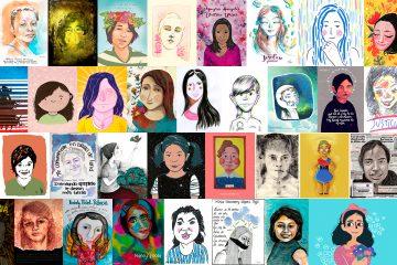 Los rostros de las niñas de Guatemala.