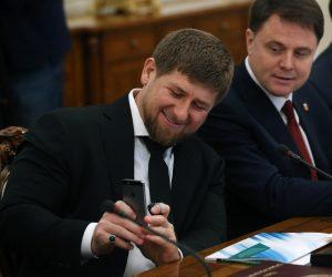 Kadyrov, el dictador con Instagram. Foto: Sasha Mordovets / Getty Images