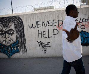 Una pinta en Puerto Príncipe. Foto: Alejandro Saldívar