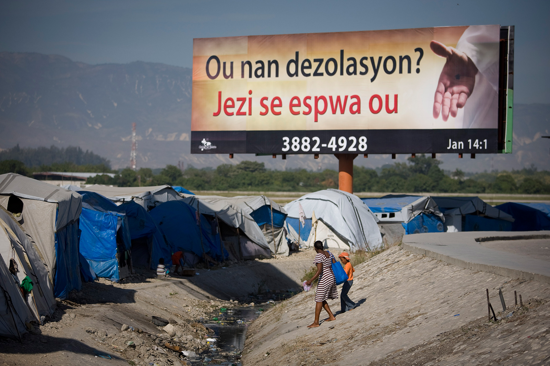 Puerto Príncipe después del terremoto. Foto: Alejandro Saldívar