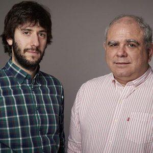 Tomás Lukin y Santiago O´Donnell