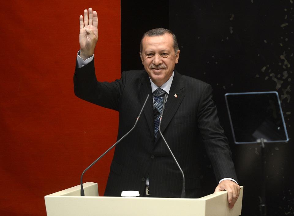 El presidente turco Recep Tayyip Erdogan. Foto: Pixabay