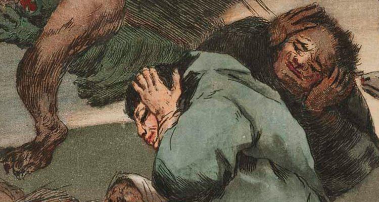 Soplones, de Goya (1799)