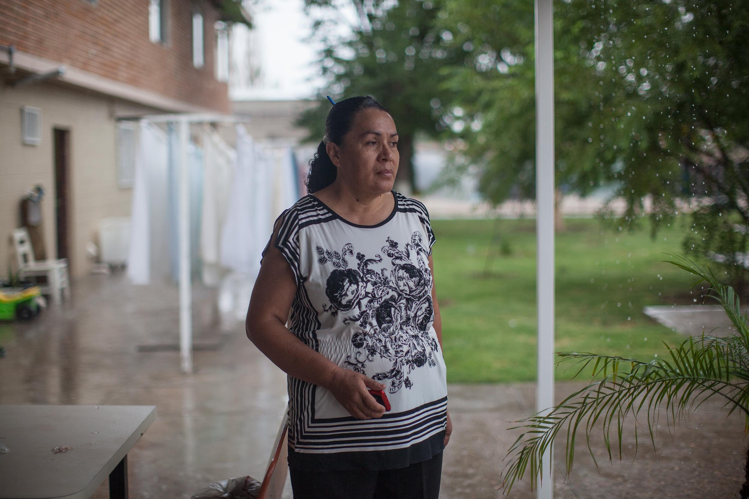 Blanca Juárez, defensora de migrantes. Foto: Alejandro Saldívar