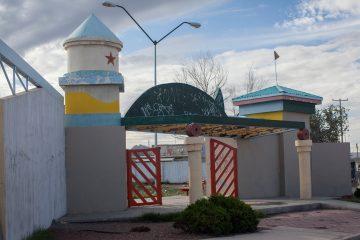 Un parque público en Ciudad Juárez. Foto: Alejandro Saldívar