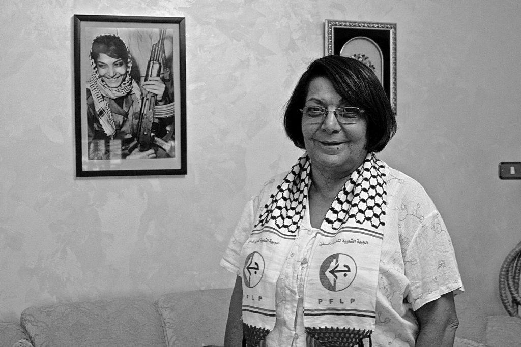 Leila Khaled, la primera mujer del mundo en secuestrar un avión. Foto: Yasna Mussa