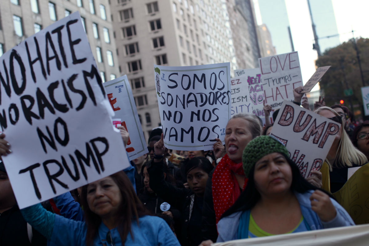 Trump en América Latina. Foto: Alejandro Saldívar