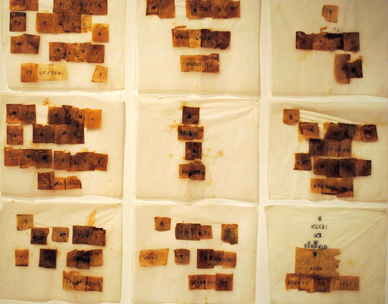 Una de las obras de Nuño Pucurrull. Foto: Mauricio Pizard
