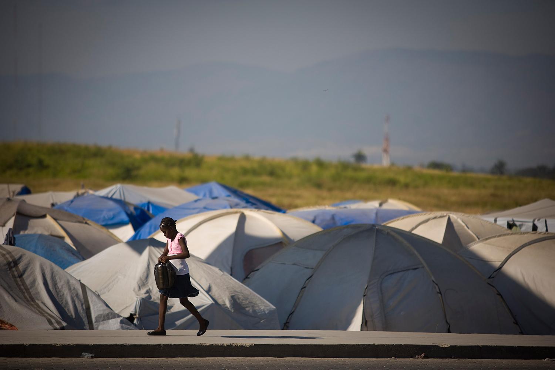 Haití, un país de refugiados. Foto: Alejandro Saldívar