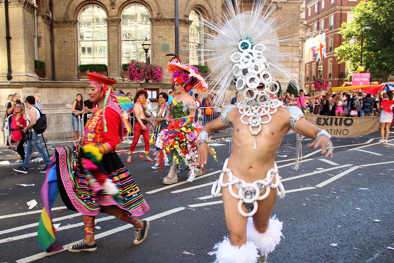 """La marcha """"Pride in London"""". Foto: Eladia Grosso"""