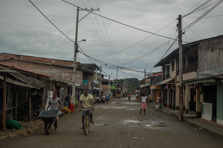 La vida en el Pacífico colombiano. Foto: Iván Castaneira