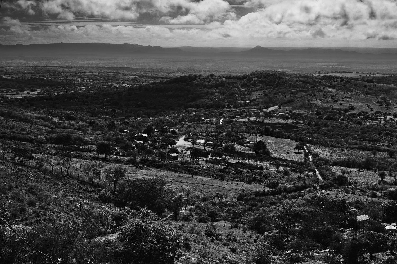 Vista do Quilombo do alto da Serra do Fasola em Buíque. Foto: Thiago Henrique