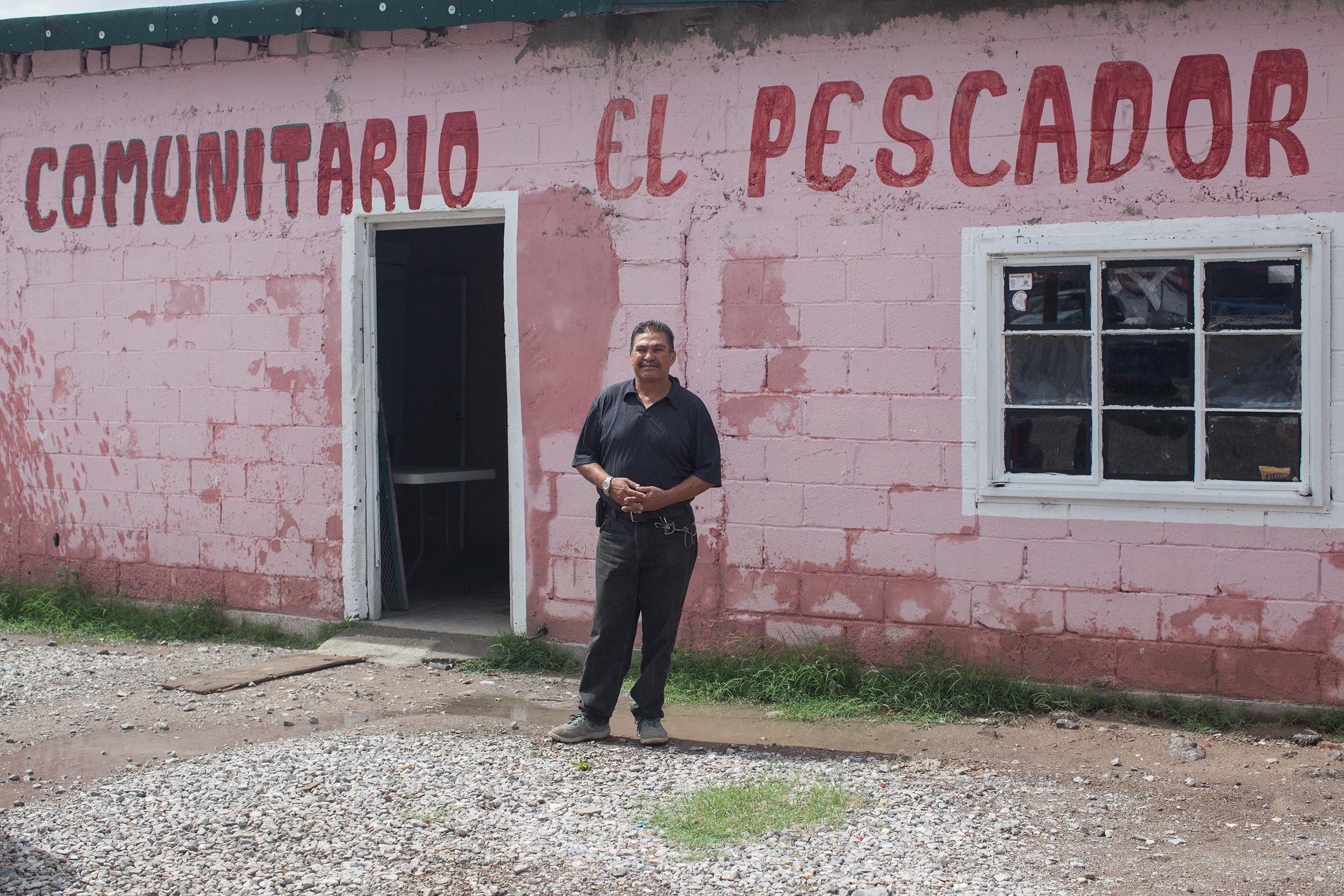 José Tavizón, el pastor de la frontera. Foto: Alejandro Saldívar