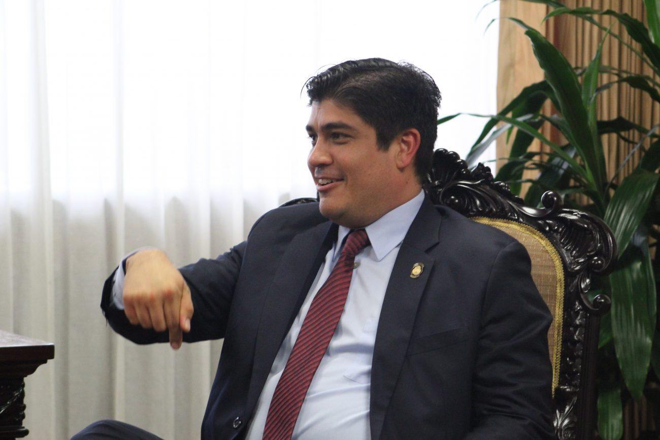 Carlos Alvarado. Nuevo presidente de Costa Rica.