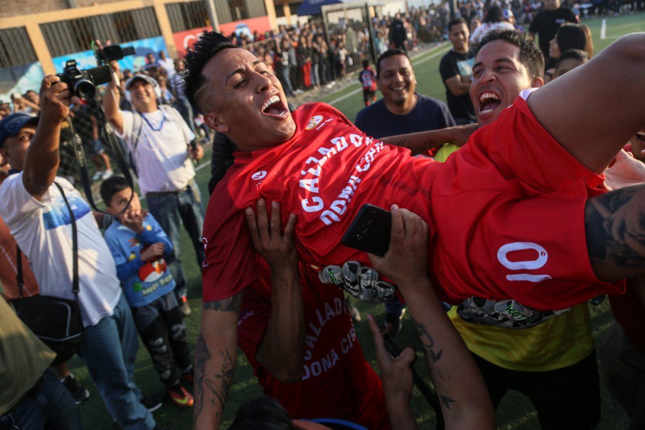 Christian Cueva vuelve a Trujillo. Foto: Gian Masko Angulo