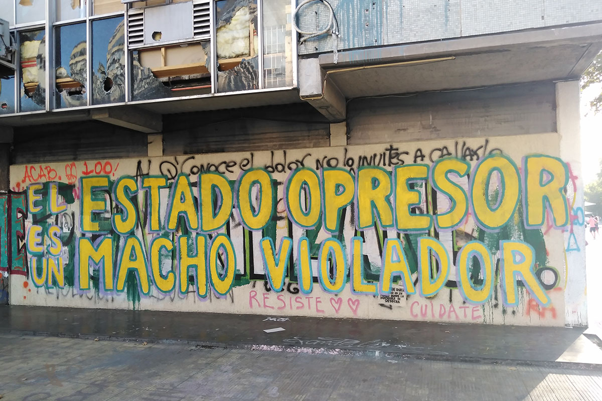 Una consigna que se esparce por Latinoamérica. Foto: Yasna Mussa
