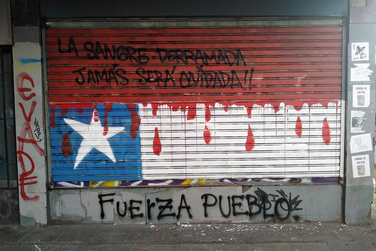 Chile. Alerta machista. Foto: Yasna Mussa