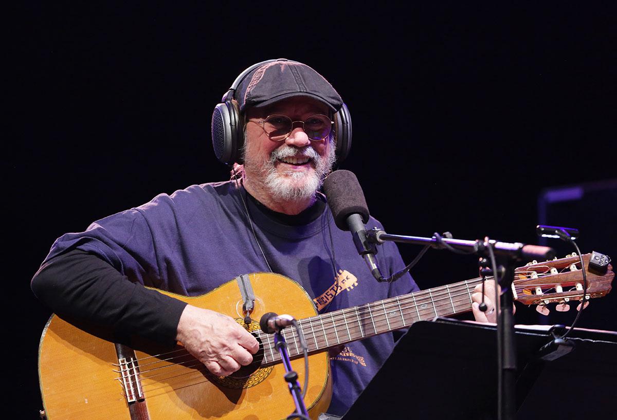 Silvio Rodríguez en un concierto en el Summer Stage, Nueva York, septiembre de 2017. Foto: Gabriel Guerra Bianchini