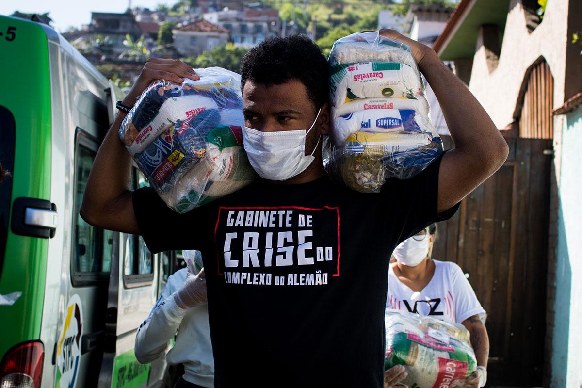 René Silva, creador de Voz das Comunidades. Foto: Matheus Guimarães