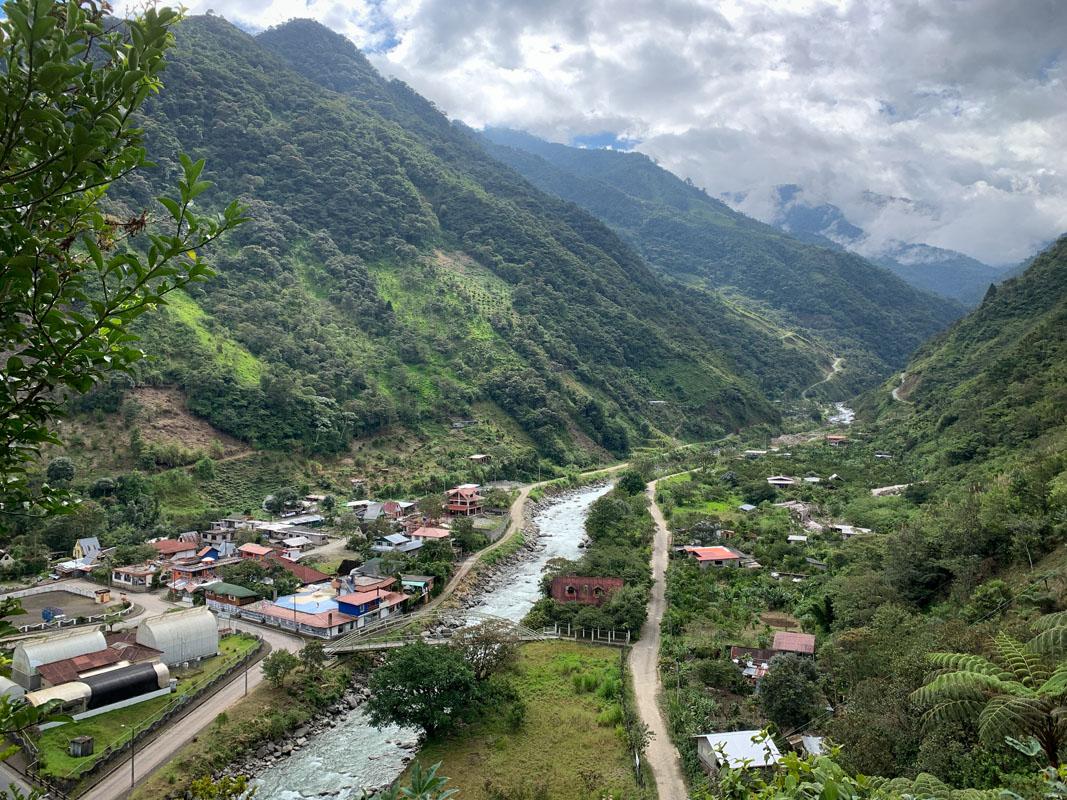 Vista de Río Verde. Foto: Dominique Riofrio