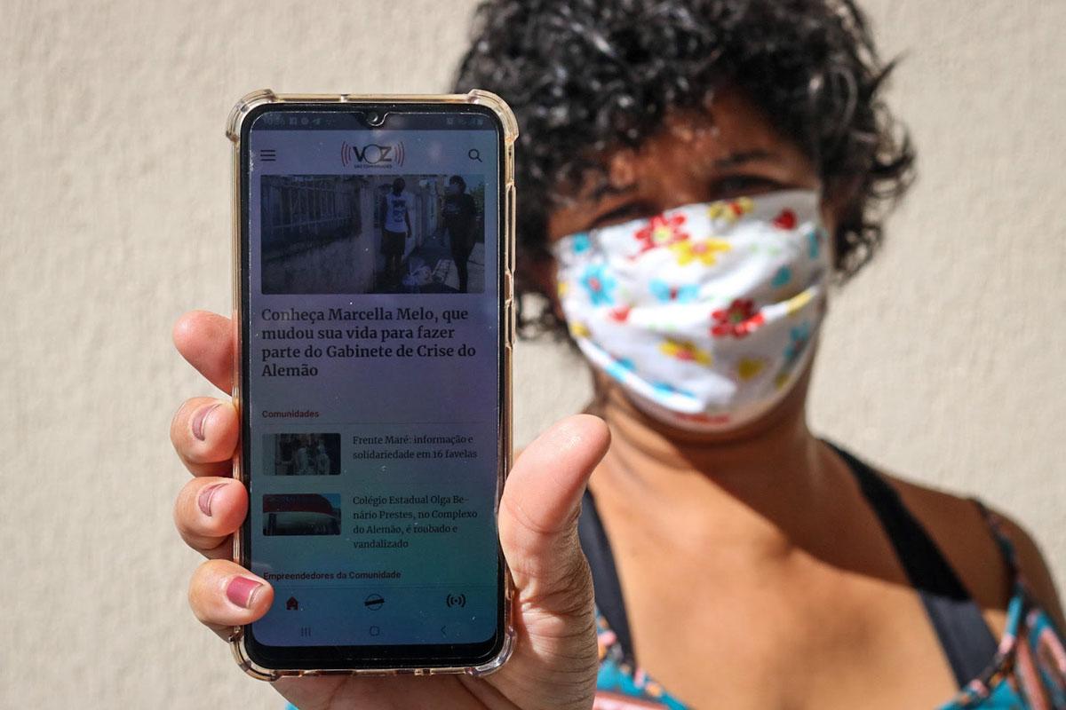 Voz das Comunidades. La voz de las favelas. Foto: Matheus Guimarães