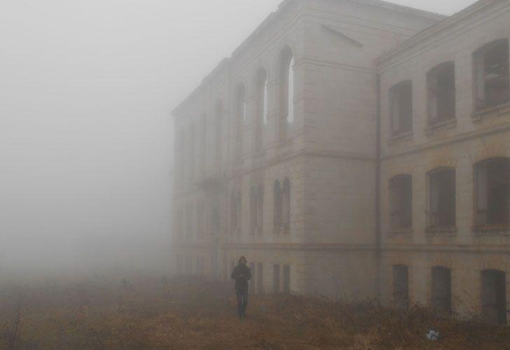 La niebla es algo permanente en Artsaj. Foto: Daniel Wizenberg