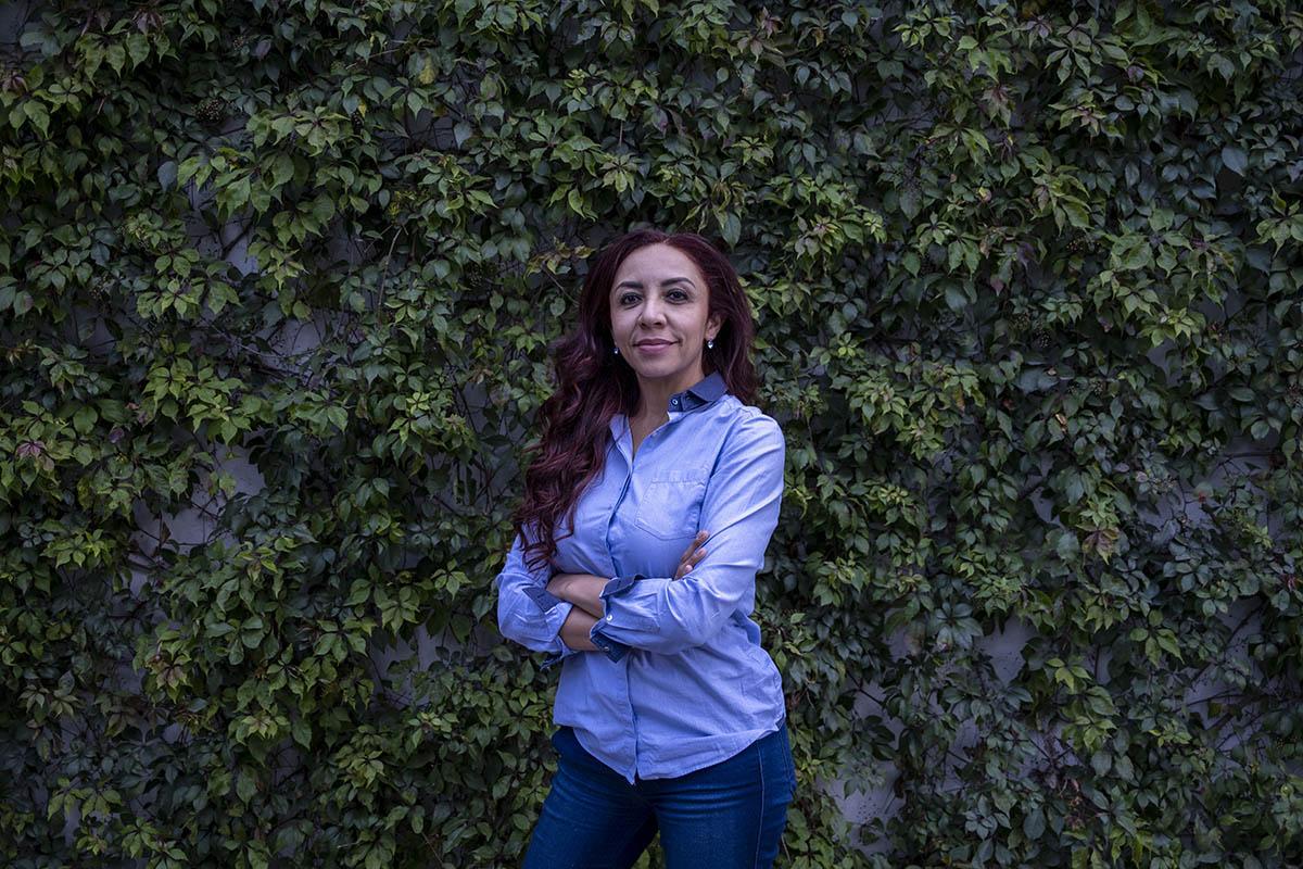 Beatriz Pereyra, reportera.