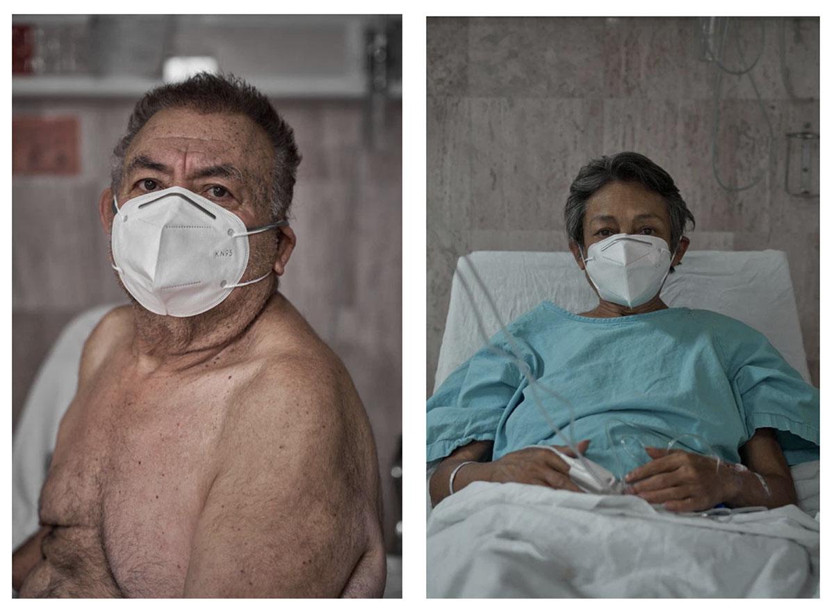 Pacientes en espera de su recuperación. Fotos: Iván Macías
