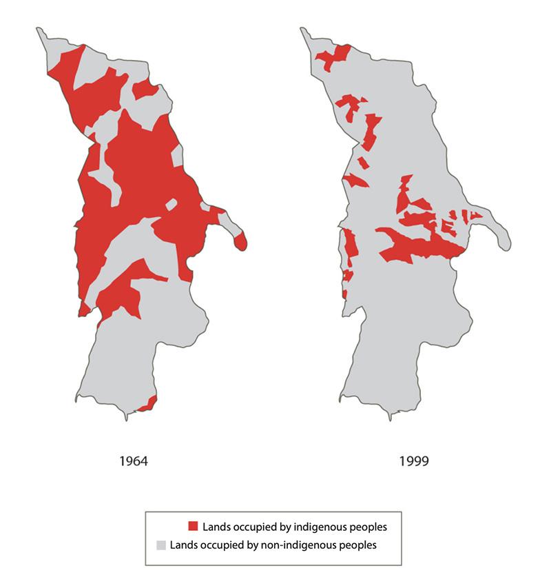 Mapa: Kus Kura S.C / Forest Peoples Programme