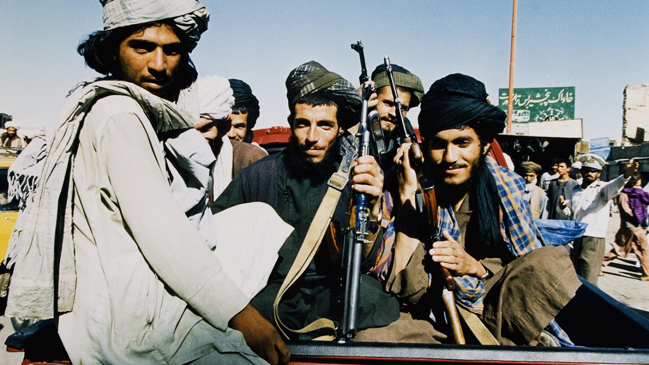 Día del anterior ingreso triunfal de los talibán en Kabul.